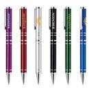 Custom Twist-Action Aluminum Construction With Sleek Design Ballpoint Pen