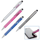 Custom Aluminum Ballpoint Pen With Capacitive Stylus