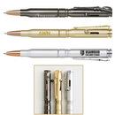 Custom Brass Bullet Ballpoint Pen With Rifle Clip