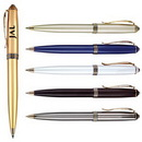 Custom Brass Construction With Classic Styling Ballpoint Pen
