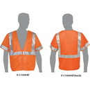 Custom Class 3 Compliant Mesh Safety Vest With Sleeves