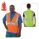 Custom Class 2 Compliant Flame Retardant Mesh Safety Vest