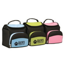 Custom 1024 600D Polyester with PEVA Backing Lunch Time Cooler, 8-1/2 L x 10 H x 7-1/2 D
