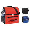 Custom 1136 600D Polyester Dual Duty Lunch Cooler, 11 L x 9-1/2 H x 6 D