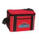 Custom 1813 600D Polyester Leisure 12 Can Cooler Bag, 13 L x 9-1/2 H x 8 D