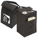 Custom 1906 Recycled Non-Woven Fabric Recycled Fabric Lunch Bag, 6-1/4 L x 10 H x 5-3/4 D