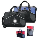 Custom 4020 600 D Polyester La Costa Business Brief<br>with Ear Phone outlet & Rear ID Pocket, 15 L x 12 1/2 H x 3 1/2 D