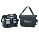 Custom 4145 600D Polyester Messenger Bag, 15 L x 12 H x 4-1/2 D