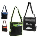 Custom 4216 90gsm non-woven fabric Multi-Function Shoulder Tote, 15 L x 16 H x 5 D