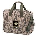 Custom 4907 600D Polyester Camo Brief Bag, 16 L x 13 H x 4 D
