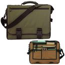 Custom 5048 600D Polyester Campus Laptop Brief, 16 L x 12-1/4 H x 4 D