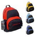 Custom 6008 600D Polyester Backpack, 14 L x 18 H 7 D