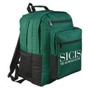 Custom 6033 600D Polyester Packer Backpack, 12-1/2 L x 8-1/2 D x 16-1/2 H