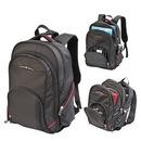 Custom 6099 1680D Polyester Safeguard Compu-Backpack, 13L x 17H x 6D