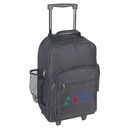 Custom 6201 600D Polyester Wheeled Backpack, 12 L x 7 D x 20 H