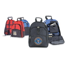 Custom 6224 600D Polyester All Purpose Backpack, 14L x 17-1/2H x 8D