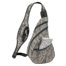 Custom 6235 600D Polyester Camouflage Sling Pack, 9L x 15-3/4H x 4-1/2D