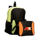 Custom 6809 600D Polyester with Vinyl Back Convertible Backpack, 12 x 18 H x 7 D