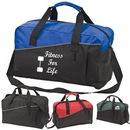 Custom 7901 600D Polyester E-Runner Sports Bag, 18 L x 11 H x 8-1/2 D