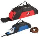 Custom 7902 600D Polyester Baseball Gear Duffel, 37-1/2 L x 8-3/4 H x 8-1/2 D
