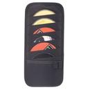 Custom 8007 600D Polyester Visor 12-CD Case, 6 L x 12-3/4 H