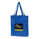 Custom 9001 600D Poly-Canvas Gusset Tote, 14 L x 16 H x 3 D