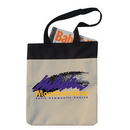 Custom 9011 600D Poly-Canvas Two Tone Meeting Tote, 14 L x 15-1/2 H x 1-1/4 D