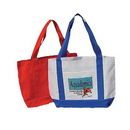 Custom 9031 Classic Solid Color Polyester Tote, 19 L x 12 H x 4-1/2 D