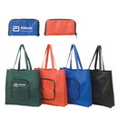 Custom 9208 90gsm non-woven fabric Foldable Tote, 15 L x 15.5 H x 3.5 D