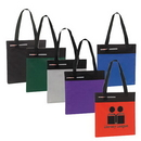 Custom 9214 600D Polyester Event Tote with Pen Holder, 15 L x 14-1/2 H x 1 D