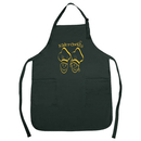 Custom APN1003 Poly-Cotton Apron, 22 L x 30 H