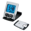 Custom CK1205 Travel Alarm Clock with EL Light, 4L x 2-1/2H x 3/4D