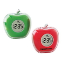 CK1212 Talking Apple Clock, 3L x 3H x 2D