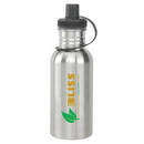 Custom DW1102 18 oz. Stainless Steel Water Bottle, 2-7/8 W x 8-3/4 H