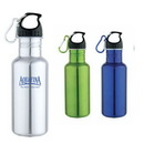 Custom DW1111 20 oz. Jogger's Stainless Steel Water Bottle, 2-9/10 W x 9-1/2 H