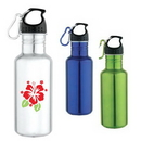 Custom DW1112 25 oz. Jogger's Stainless Steel Water Bottle, 2-9/10 W x 10-1/2 H