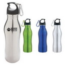 Custom DW1114 20 oz. Trainer Stainless Steel Water Bottle, 2-9/10 W x 9-1/2 H