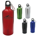 Custom DW1126 22 oz. Camper Aluminum Water Bottle, 2-9/10 W x 8-1/2 H