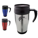 Custom DW1130 16 oz. Stainless Steel Travel Mug, 4-4/5 W x 6-4/5 H