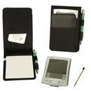 Custom PAD1801 Leatherette/Nylon E-Organizer Jotter, 3-1/2 L x 5-1/2 H