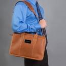 Canyon Outback Leather Custom Cs223 Buffalo Valley Briefcase, Deboss