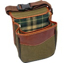 Canyon Outback Leather Custom Cv407 Buckskin Gulch Shell Bag, Deboss