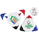 Custom Gm9300 Triple Golf Ball Marker, Silkscreen or Digital Imprint
