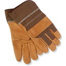 Canyon Outback Leather Custom Gv701 Leather/Denim Work Gloves, Deboss