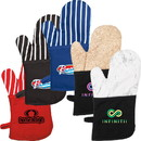 Custom Om200 Oven Mitt with Stripes, Silkscreen or Heat Transfer