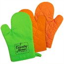 Custom Om203 Kitchen Bright Oven Mitt, Silkscreen or Heat Transfer