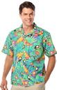 Blank Blue Generation BG3101 55/45 Cotton/Poly Blend Adult Print Camp Shirts