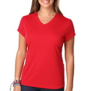 BG 6302 - Ladies Moisture Wicking V-Neck Tee
