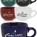Blank 18 oz Cappuccino Mugs Soup Mugs, Stoneware, 3.5