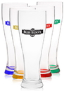 Custom 23 oz. Libbey Giant Pilsner Glasses, 9.25